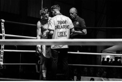 Boxeur pro - Bernard DELARUE