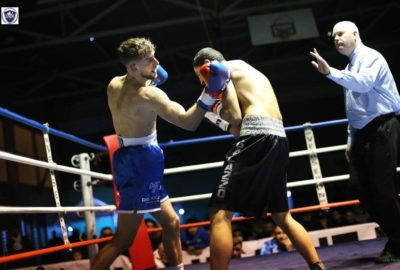 3 ème combat pro - Uppercut - boxe pro